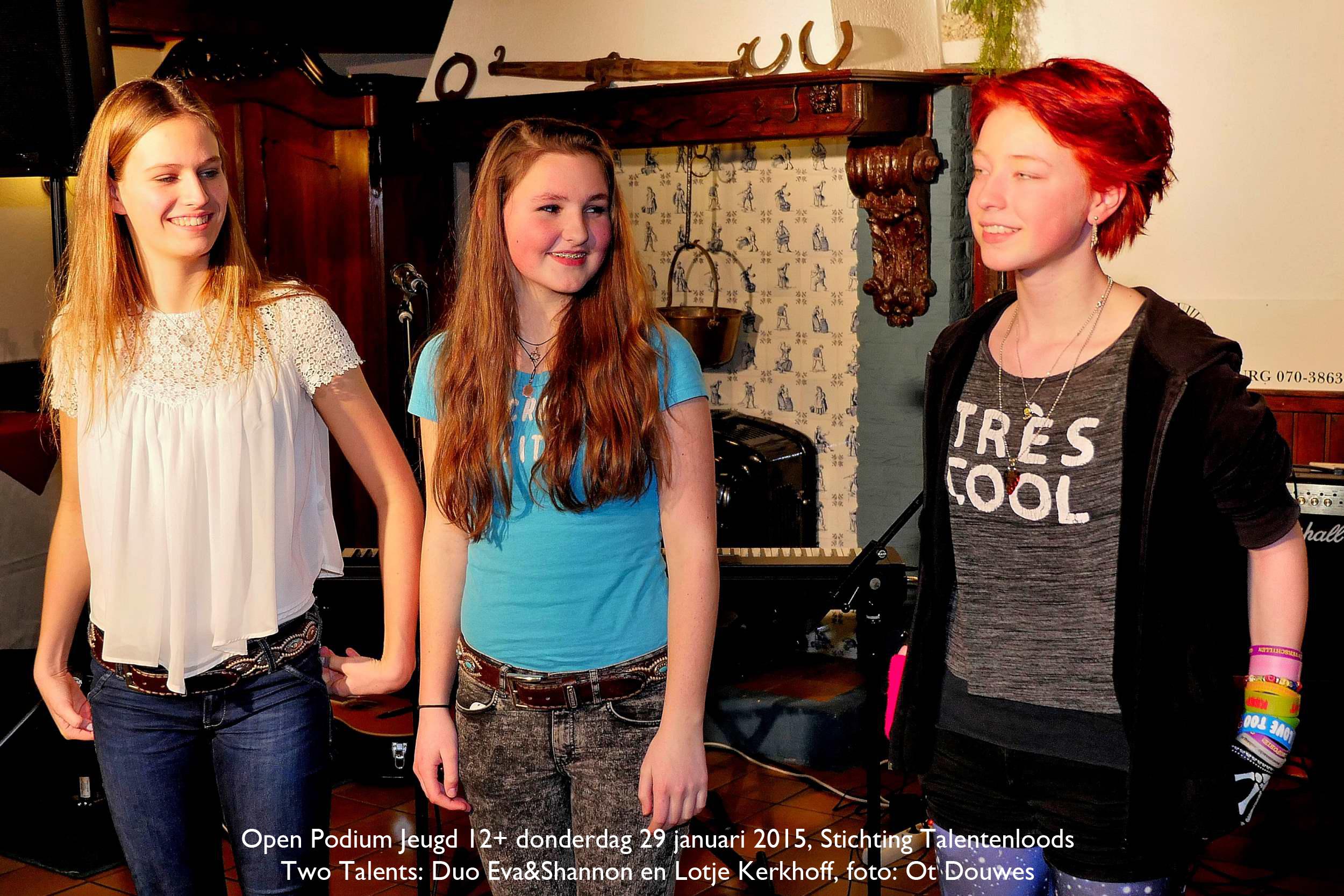 Open Podium Talentenloods2015-01-29