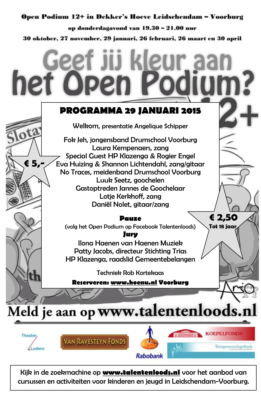 OpenPodium_programma_290115