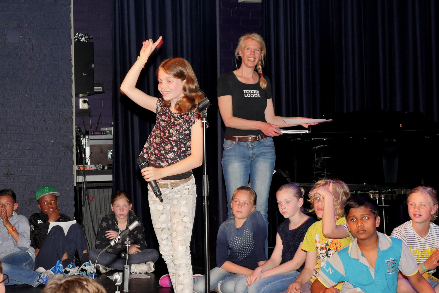 Eerste Open Podium in Theatercafé Ludens