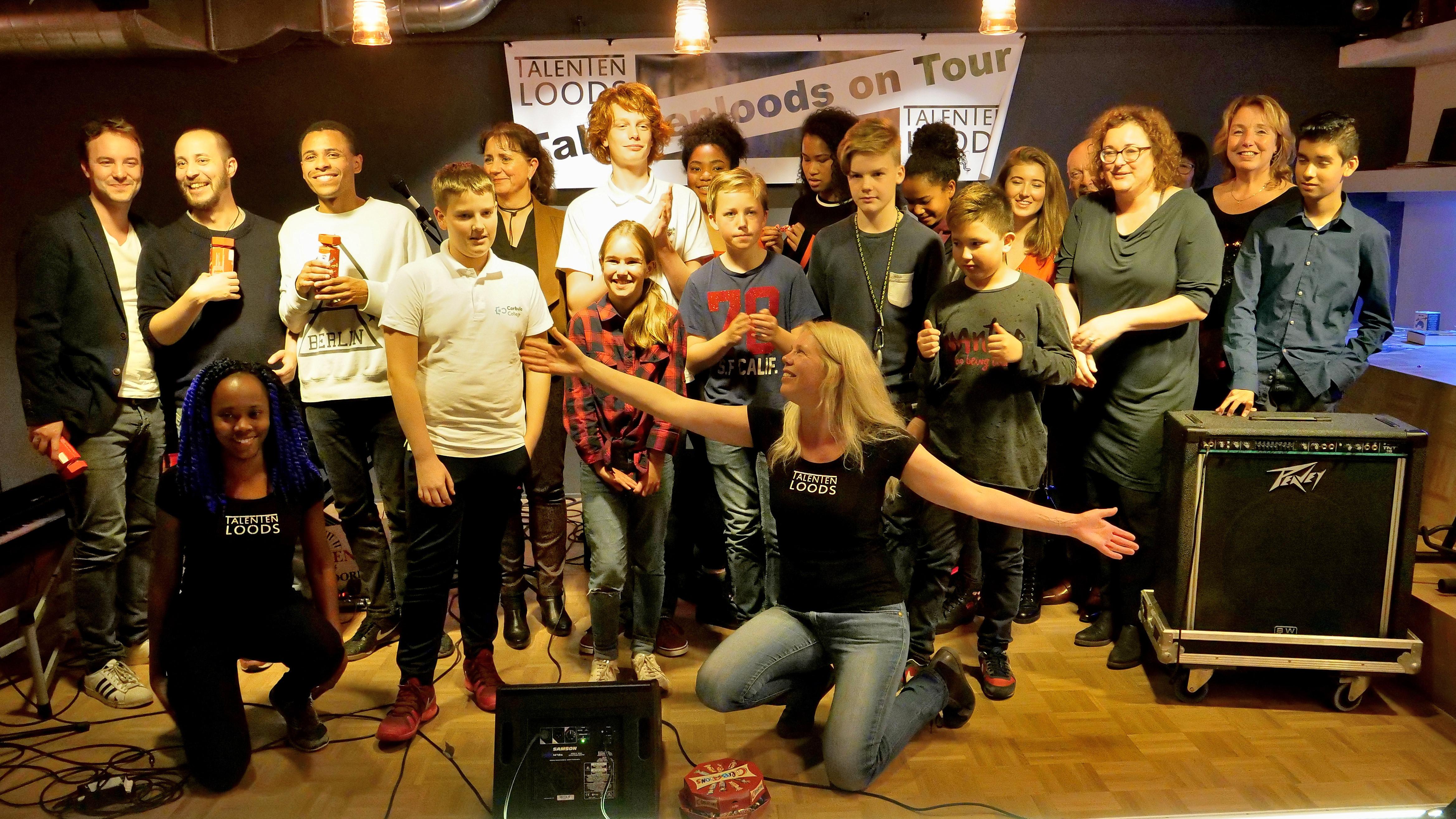 Eerste Two Talents Open Podium Talentenloods