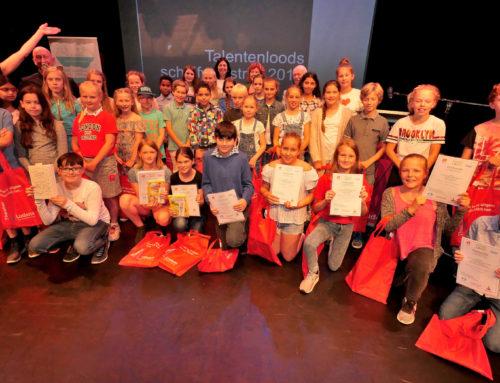 Prijsuitreiking Schrijfwedstrijd Talentenloods 2018