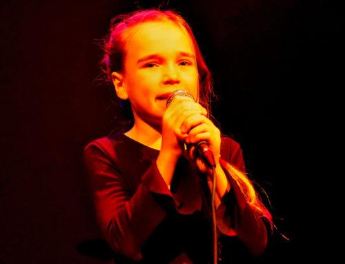 Jazzy 9-jarige Katja door naar Slotavond