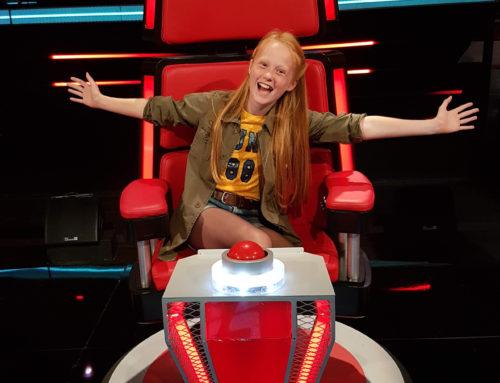 Roos van Voice Kids Special Guest Slotavond
